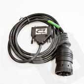 Alientech KessV2 CAT J1939 data link 9 pin round diagnostic connector cable - t