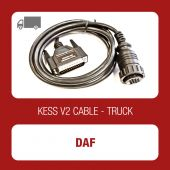 Kessv2 DAF 16Pin OBD cable - 144300K207 - t