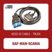Kessv2 DAF-MAN-SCANIA 38Pin OBD cable - 144300K208 - t