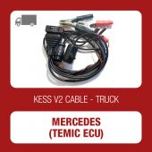 KESSv2 ECU bench connection adapter for Mercedes Actros Temic cable