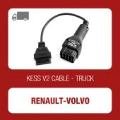 KESSv2 Renault and Volvo 12 pin adaptor cable - 144300K214 - t
