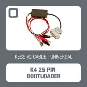 K4 25 pin bootloader cable for cars, Alientech KessV2 - t