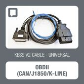 KessV2 OBD standard cable for CAN/J1850/K-LINE lines - t