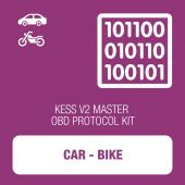 KESSv2 Car and Bike OBD protocol kit MASTER