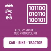 Alientech - KESSv2 Car, Bike and Tractor OBD protocol kit MASTER (14P600KV09)