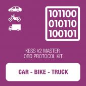 Alientech - KESSv2 Car, Bike and Truck OBD protocol kit MASTER (14P600KV08)
