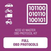 KESSv2 Full OBD protocol kit - MASTER