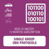 KESSv2 Single Group Protocols 12 months subscription MASTER
