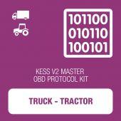 Alientech - KESSv2 Truck and Tractor OBD protocol kit MASTER (14P600KV10)