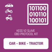 Alientech - KESSv2 Car, Bike and Tractor OBD protocol kit SLAVE (14P600KS08)