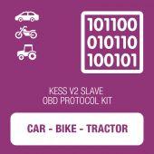 Alientech - KESSv2 Car, Bike and Tractor OBD protocol kit SLAVE (14P600KS08)
