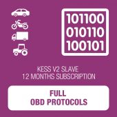 KessV2 full 12 months subscription SLAVE