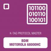 K-TAG BDM Motorola 68000HC protocol MASTER