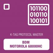 Alientech - K-TAG BDM Motorola 68000HC protocol MASTER (14KTMA0006)