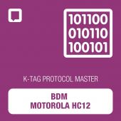 K-TAG BDM Motorola HC12 protocol MASTER