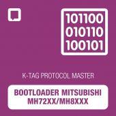 K-TAG bootloader Mitsubishi MH72xx/MH8xxx protocol MASTER