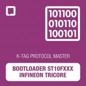 K-TAG bootloader Infineon Tricore/ST10 protocol - MASTER