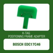 K-TAG positioning frame adapter for Bosch EDC17C46 - t