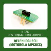 Alientech - K-TAG positioning frame adapter for Delphi DCI ECU (Motorola MPC5xx) (14AM00T00M)-1