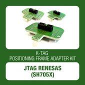 Alientech K-TAG positioning frame adapter kit JTAG Renesas (144300KRE1)-1