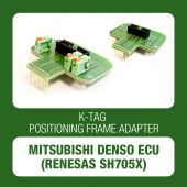 Alientech - K-TAG positioning frame adapter for Mitsubishi Denso ECUs (Renesas SH705x) (14AM00T08M + 14AM00T11M)-1