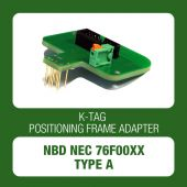 Alientech - K-TAG positioning frame adapter TYPE A for NBD NEC 76F00XX (14AM00T15M)-1