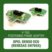 Alientech - K-TAG positioning frame adapter for Opel Denso ECUs (Renesas SH705x) 14AM00T07M + 14AM00T10M)-1