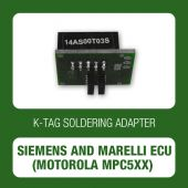 Alientech - K-TAG soldering adapter for Siemens and Marelli ECU (Motorola MPC5xx) (14AS00T03S)-1