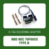 Alientech - K-TAG soldering adapter Type B for NBD NEC 76F00xx ECUs (14AS00T09S)-1