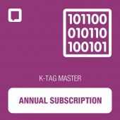 K-TAG annual subscription for MASTER tool