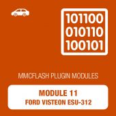 MMC Flash - 11 Module - Ford Visteon ESU-312, 412, 415 Gasoline (mmcflash_module11)