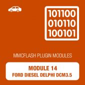 14 Module - Ford Diesel Delphi DCM3.5 for MMCFlash