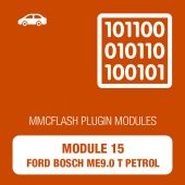 15 Module - Ford Bosch ME 9.0 Benzin (Turbo) for MMCFlash