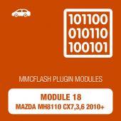 MMC Flash - 18 Module - Mazda MH8110 CX7,3,6 2010+ (mmcflash_module18)