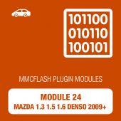MMC Flash - 24 Module - Mazda 1.3 1.5 1.6 AT / MT Denso with 2009+ (mmcflash_module24)