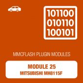 MMC Flash - 25 Module - Mitsubishi MH8115F (mmcflash_module25)