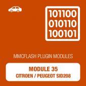 MMC Flash - 35 Module - Citroen/Peugeot SID208 (mmcflash_module35)