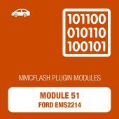 MMC Flash - 51 Module - Ford EMS2214 (mmcflash_module51)
