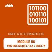 MMC Flash - 56 Module - VAG MED / EDC 17 UDS (mmcflash_module56)