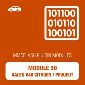 PCM FLash - 59 Module - Valeo V46 Citroen / Peugeot for MMC Flash (mmcflash_module59)