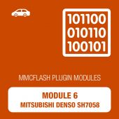 6 Module - Mitsubishi Diesel Denso SH7058 (FP-256H, silver case) for MMCFlash