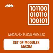 MMC Flash - Set of modules Mazda (mmcflash_modulesmazda)