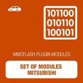 MMC Flash - Set of modules Mitsubishi (mmcflash_modulesmitsubishi)