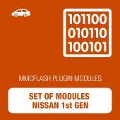 Set of modules Nissan 1st Gen for MMCFlash