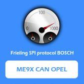 FRC3252S - Bosch ME9x CAN Opel
