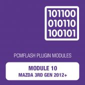 PCM Flash - Module 10 - Mazda 3rd generation (2012+) (pcmflash_module10)