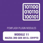 PCM Flash - Module 11 - Mazda 3rd generation (2012+) Crypto (pcmflash_module11)