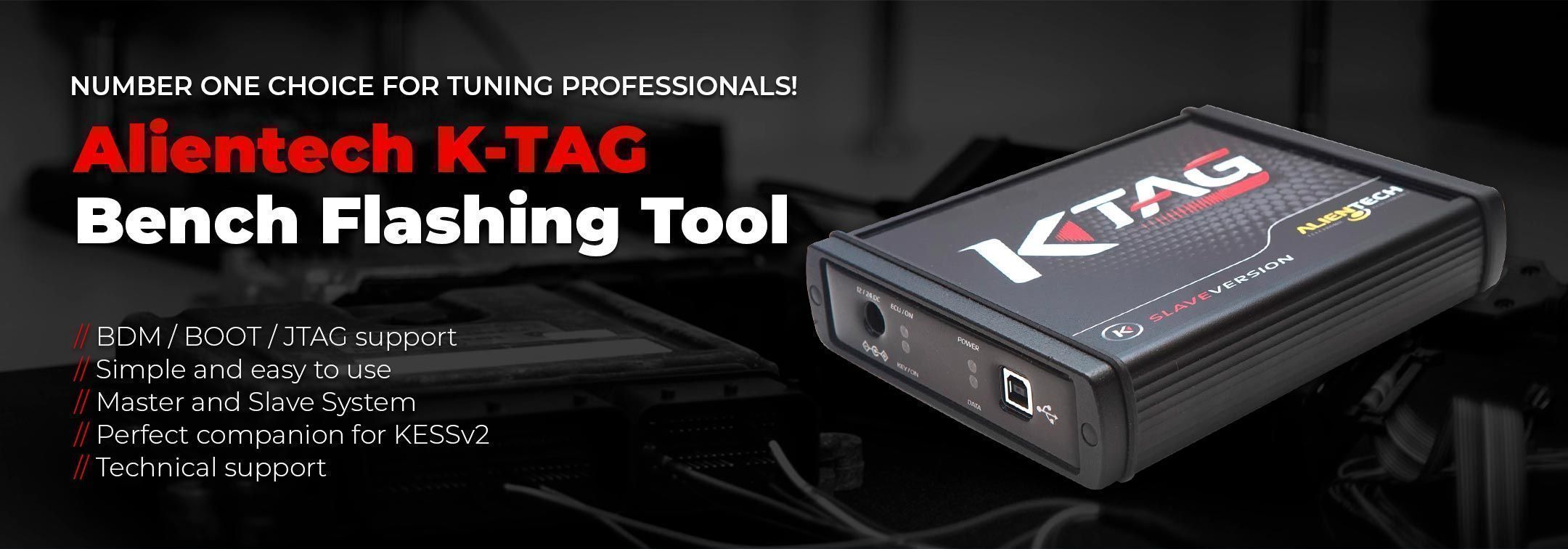 Alientech K-TAG Bench Tool
